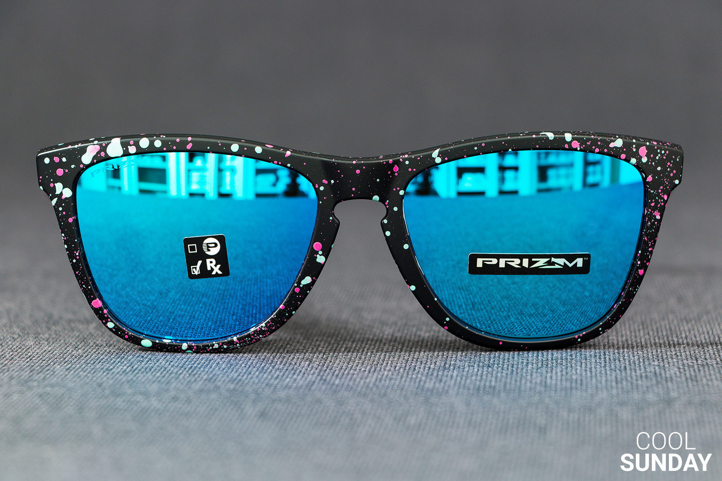 Oakley Latch Squared >> OAKLEY FROGSKINS (Asian Fit) Splatter Fade Collection ...